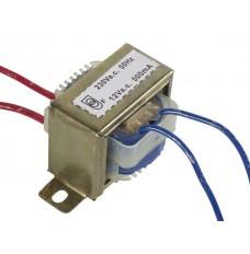 OPEN-CHASSIS TRANSFORMATOR 6VA 1 x 12V 500mA