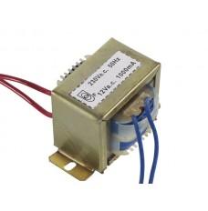 OPEN-CHASSIS TRANSFORMATOR 12VA 1 x 12V 1000mA
