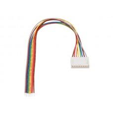 PRINTCONNECTOR - VROUWELIJK - 8 CONTACTEN / 20cm