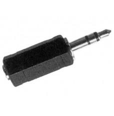 VROUWELIJKE 3.5mm  MONO JACK NAAR MANNELIJKE 3.5mm STEREO JACK