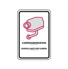 CCTV WAARSCHUWINGSBORD - VERSIE BE