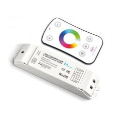 RGBW LED CONTROLLER - MET RF-AFSTANDSBEDIENING