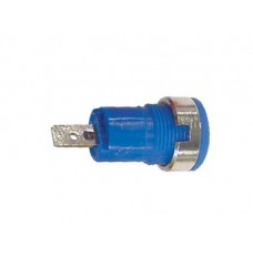 IEC1010 BINDING POST, FASTON - BLUE
