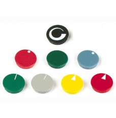 LID FOR 15mm BUTTON (BLUE - WHITE LINE)