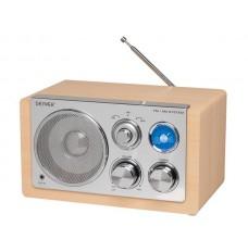 TR-61LIGHTWOODMK2  - RADIO MET ELEGANT DESIGN - HOUTKLEUR