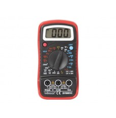 DIGITALE MULTIMETER - CAT. III 300 V / CAT. II 500 V - 1999 COUNTS - DATA HOLD / ACHTERGRONDVERLICHTING / ZOEMER