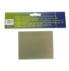 EUROCARD VOLLE-LIJN PATROON - 100x80mm - FR4 (1st./bl.)
