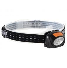 2-in-1 HOOFDLAMP MET 4 WITTE EN 3 RODE LEDS
