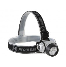 HOOFDLAMP MET 7 ZEER HELDERE WITTE LEDS