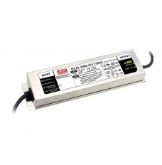 AC-DC SINGLE OUTPUT LED DRIVER WITH PFC - 3 WIRE INPUT - OUTPUT 24 VDC at 10A