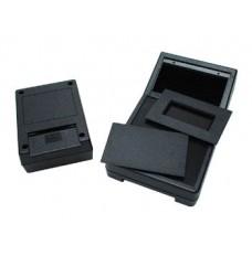 ABS-BEHUIZING - ZWART 111 x 82 x 38mm