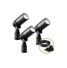 GARDEN LIGHTS - ALDER - SPOT - 12 V - 3 st.