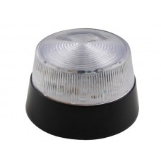 LED-KNIPPERLICHT - TRANSPARANT - 12 VDC -  ø 77 mm