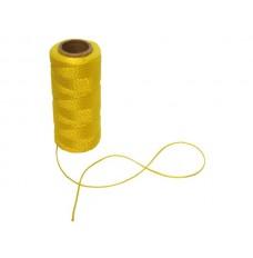 METSELKOORD - 1.2 mm - LENGTE 100 m - GEEL