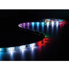 KIT MET DIGITAAL GEANIMEERDE LED-STRIP, CONTROLLER EN VOEDING - RGB - 150 LEDs - 5 m - 12 VDC