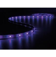 KIT MET MUZIEKGESTUURDE LED-STRIP, CONTROLLER EN VOEDING - RGB - 150 LEDs - 5 m - 12 VDC