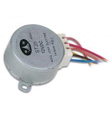 STAPPENMOTOR 12VDC 60mA (HOEK 7.5° / 85 STAPPEN)