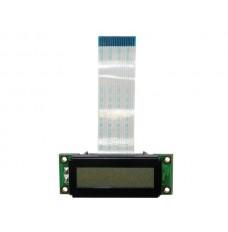 LCD 16 x 2 STN - TRANSFLECTIEF, GRIJS POSITIEF, WITTE ACHTERGRONDVERLICHTING