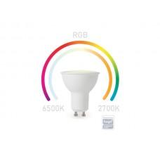 SMART WIFI RGB-LAMP - KOUDWIT & WARMWIT - GU10