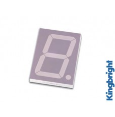1-DIGIT DISPLAY 57mm GEMEENSCHAPPELIJKE ANODE HYPERROOD