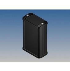 ALUMINIUM BEHUIZING - ZWART - 100 x 59.9 x 30.9 mm - met flens
