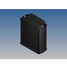 ALUMINIUM BEHUIZING - ZWART - 100 x 85.8 x 36.9 mm