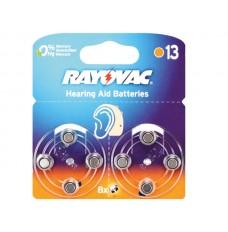 RAYOVAC ZINC AIR KNOOPCEL 1.45V-290mAh 4606.745.418 (8st/bl)