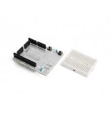 PROTOSHIELD PROTOTYPING BOARD MET MINI BREADBOARD VOOR ARDUINO® UNO