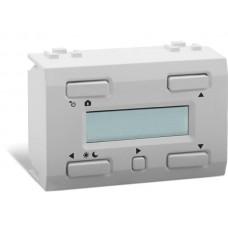 witte LCD-temperatuurcontroller met tijdsbackup voor gebruik met VMB1TS(W)