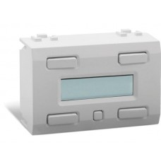 witte LCD-bedieningsmodule met 32 functies en tijds- en datumbackup