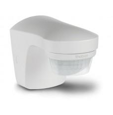 witte PIR bewegings-, schemer- en temperatuursensor voor buitenshuis
