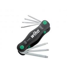 Wiha Multitool PocketStar TORX® Tamper Resistant (met boring) in blister 7-delig (25164)