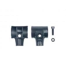 Wiha Hamerschaalset met schroef en borgmoer voor kunststof hamer Safety (26668) 30 mm