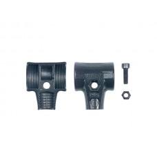 Wiha Hamerschaalset met schroef en borgmoer voor kunststof hamer Safety (26670) 50 mm