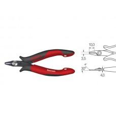 Wiha Schuine kopkniptang Electronic zeer smalle, korte kop zonder facet in blister (27397) 118 mm