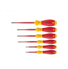 Wiha Schroevendraaierset SoftFinish electric slimFix TORX® Tamper Resistant (met boring) 6-delig (41245)