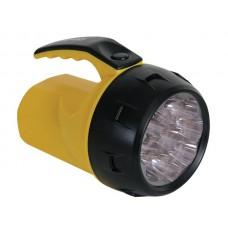 KRACHTIGE LEDZAKLAMP - 9 LEDs - 4 x AA-BATTERIJ